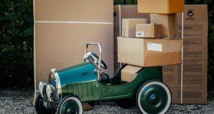 Briefkasten mit Paketfach